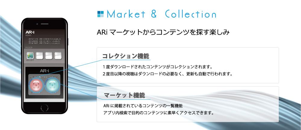 ARiマーケットからコンテンツを探す楽しみ