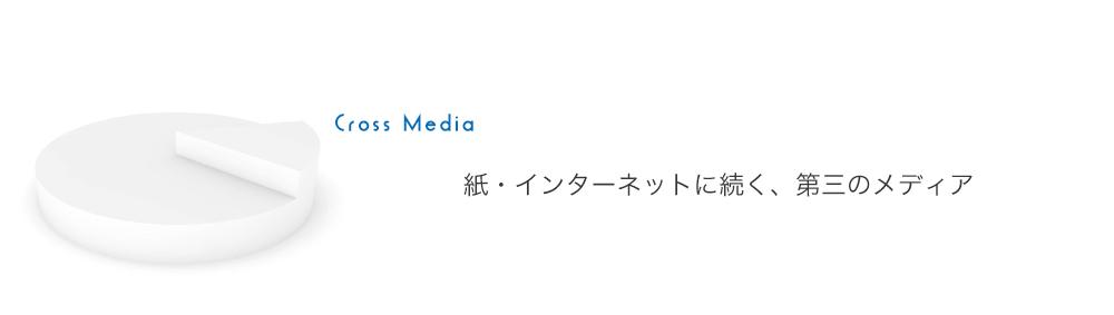 紙・インターネットに続く、第三のメディア