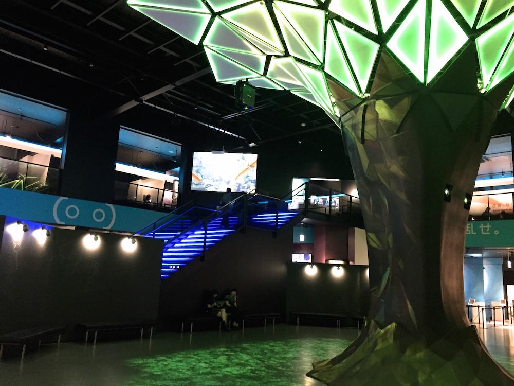 VR ZONE 新宿 エントランス