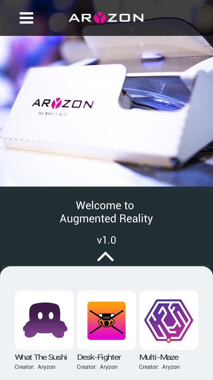 Aryzon app