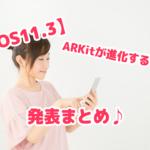 iOS11.3アップデート